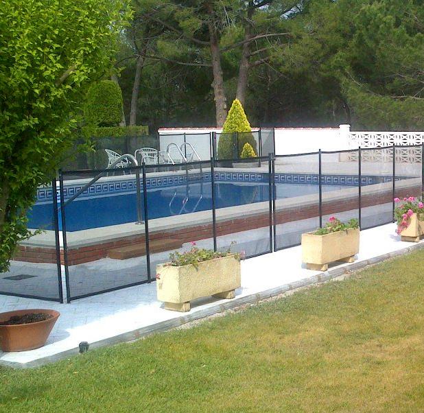 Aguaspan vallas de protecci n en piscinas para ni os for Vallas para piscinas