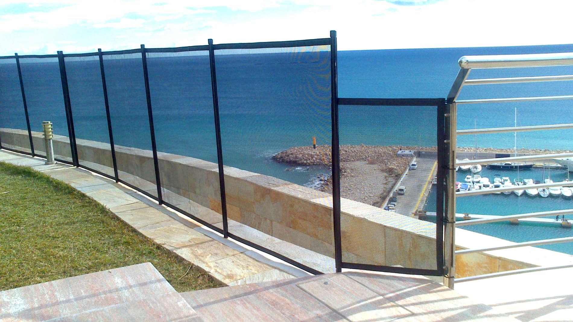 Aguaspan vallas de protecci n en piscinas para ni os - Vallas de seguridad ninos ...